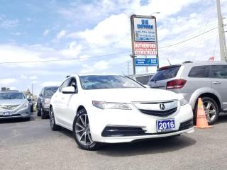 Used 2016 Acura TLX V6 TECH SH AWD NAVI NO ACCIDENTS for sale in Brampton, ON