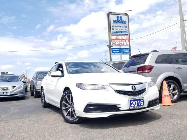 2016 Acura TLX V6| TECH |SH| AWD| NAVI |NO ACCIDENTS