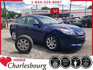 Used 2012 Mazda MAZDA3 GX CLIMATISEUR **UN PROPRIÉTAIRE** for sale in Charlesbourg, QC
