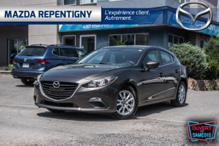 Used 2014 Mazda MAZDA3 SPORT GS CRUISE-SIEGES CHAUFF 47.30$/SEM for sale in Repentigny, QC