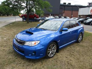 Used 2014 Subaru WRX STI SEDAN ~ MANUAL ~ LEATHER ~ SUNROOF ~ ACCIDENT FREE for sale in Toronto, ON