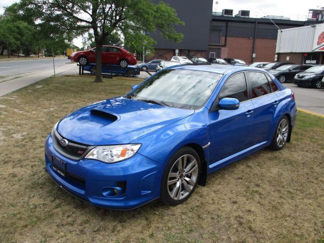 2014 Subaru WRX STI SEDAN ~ MANUAL ~ LEATHER ~ SUNROOF ~ ACCIDENT FREE
