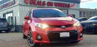 Used 2014 Toyota Corolla S for sale in Oakville, ON