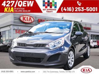 Used 2015 Kia Rio LX+ for sale in Etobicoke, ON