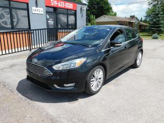 Used 2015 Ford Focus Titanium|LEATHER|NAVI|BACKUP|SUNROOF|BLUETOOTH for sale in St. Thomas, ON