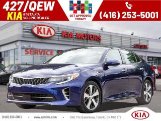 Used 2016 Kia Optima SXL Turbo w/Black for sale in Etobicoke, ON