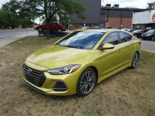 Used 2017 Hyundai Elantra Sport ~ TURBO ~ MANUAL ~ LOW KM for sale in Toronto, ON