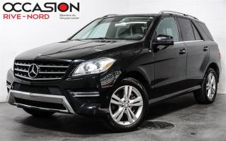 Used 2013 Mercedes-Benz ML-Class ML 350 BlueTEC NAVI+CUIR+TOIT.OUVRANT for sale in Boisbriand, QC