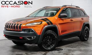 Used 2016 Jeep Cherokee Trailhawk V6 4x4 CUIR+TOIT.OUVRANT for sale in Boisbriand, QC