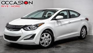 Used 2016 Hyundai Elantra GL SIEGES.CHAUFFANTS+BLUETOOTH+A/C for sale in Boisbriand, QC