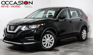 Used 2017 Nissan Rogue S CAM.RECUL+SIEGES.CHAUFFANTS+BLUETOOTH+A/C for sale in Boisbriand, QC