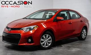 Used 2015 Toyota Corolla S TOIT.OUVRANT+CAM.RECUL+BLUETOOTH for sale in Boisbriand, QC