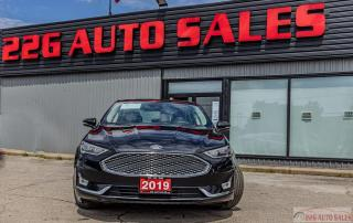 Used 2019 Ford Fusion Hybrid Titanium|ACCIDENT FREE|NAV|LEATHER|SUNROOF for sale in Brampton, ON