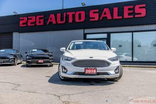 Used 2019 Ford Fusion Hybrid Titanium|ACCIDENT FREE|LEATHER|NAV|BACKUP CAM| for sale in Brampton, ON