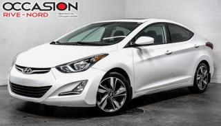 Used 2015 Hyundai Elantra GLS TOIT.OUVRANT+MAGS+BLUETOOTH for sale in Boisbriand, QC
