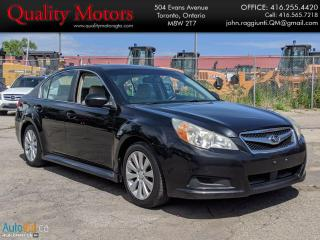 Used 2011 Subaru Legacy 3.6R w/Limited & Nav Pkg for sale in Etobicoke, ON