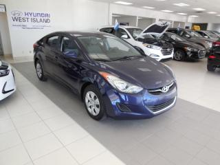 Used 2013 Hyundai Elantra 2013 L AUTO GROUPE ÉLECTRIQUE for sale in Dorval, QC