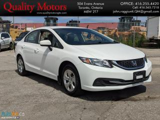 Used 2015 Honda Civic LX for sale in Etobicoke, ON
