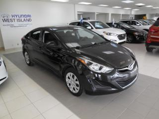 Used 2015 Hyundai Elantra GL MANUELLE A/C BT CRUISE GROUPE ÉLECTRI for sale in Dorval, QC