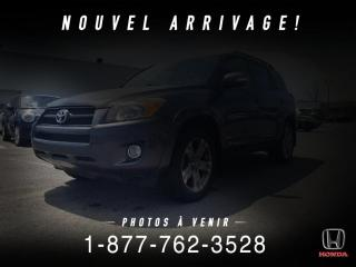 Used 2012 Toyota RAV4 SPORT + AWD + TOIT + A/C + WOW! for sale in St-Basile-le-Grand, QC