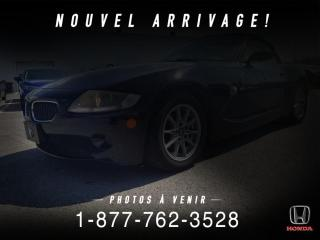 Used 2005 BMW Z4 CABRIOLET + 2.5L + AUTO + A/C + WOW! for sale in St-Basile-le-Grand, QC