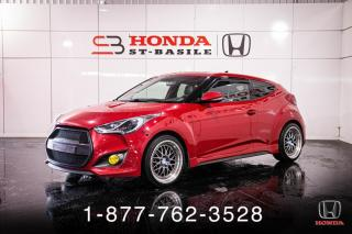 Used 2013 Hyundai Veloster TURBO + MANUEL + NAVI + CUIR + WOW! for sale in St-Basile-le-Grand, QC