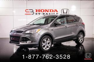 Used 2014 Ford Escape TITANIUM + CUIR + A/C + 2.0L + WOW! for sale in St-Basile-le-Grand, QC