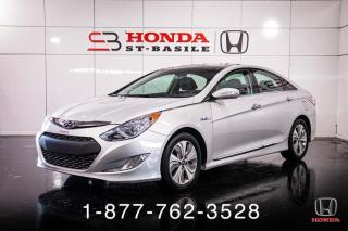 Used 2015 Hyundai Sonata Hybrid HYBRID + TOIT + CAMERA + PROPRE + WOW! for sale in St-Basile-le-Grand, QC