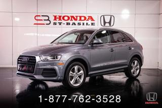 Used 2016 Audi Q3 PROGRESSIV + 2.0T + PANO + PROPRE + WOW! for sale in St-Basile-le-Grand, QC