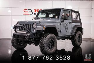 Used 2014 Jeep Wrangler SPORT + 4X4 + LIFT KIT + PROPRE + WOW! for sale in St-Basile-le-Grand, QC