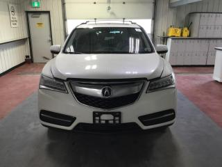 Used 2014 Acura MDX Tech pkg for sale in Winnipeg, MB