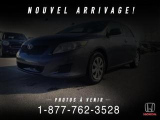 Used 2009 Toyota Corolla CE + A/C + CRUISE + GROUPE ELEC + WOW! for sale in St-Basile-le-Grand, QC