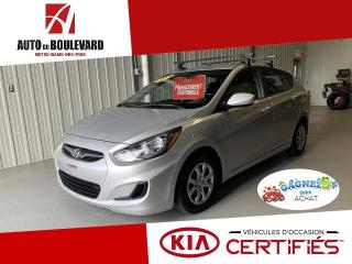 Used 2014 Hyundai Accent AUTO AIR CRUISE SIEGES CHAUFF BAS KILO for sale in Notre-Dame-des-Pins, QC