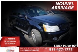 Used 2007 Pontiac Torrent INTÉGRALE| V6| ATTELAGE-REMORQUE for sale in Drummondville, QC