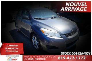 Used 2009 Toyota Matrix INTÉGRALE| MAGS| TRÈS PROPRE! for sale in Drummondville, QC