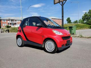 Used 2010 Smart fortwo *A/C*SIÈGES CH* 33$/SEMAINE for sale in St-Jérôme, QC