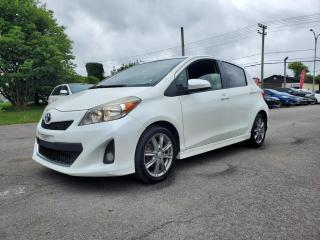 Used 2012 Toyota Yaris *BLUETOOTH*CRUISE*A/C* 56$/SEMAINE for sale in St-Jérôme, QC
