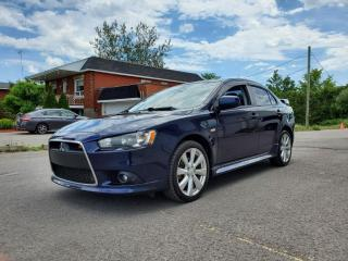 Used 2014 Mitsubishi Lancer TC-SST AWD *BT*SIÈGES CH* 89$/SEM for sale in St-Jérôme, QC