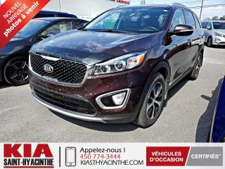 Used 2016 Kia Sorento EX TURBO AWD ** CAMÉRA / CUIR for sale in St-Hyacinthe, QC