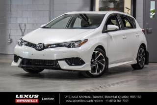 Used 2018 Toyota Corolla iM AUTO; CAMERA SIEGES CHAUFFANT ECRAN 7'' MAGS BAS KILOMÉTRAGE - ÉCRAN TACTILE 7'' - CAMERA DE RECUL - SIÈGES CHAUFFANT - MAGS 17'' for sale in Lachine, QC