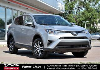 Used 2016 Toyota RAV4 LE FWD GROUPE ÉLECTRIQUE for sale in Pointe-Claire, QC
