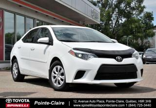 Used 2015 Toyota Corolla ***RÉSERVÉ***CE AUTOMATIQUE for sale in Pointe-Claire, QC