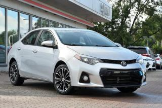 Used 2015 Toyota Corolla SPORT UPGRADE MAGS, TOIT, CAMÉRA DE RECUL for sale in Pointe-Claire, QC