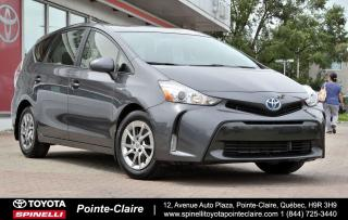 Used 2017 Toyota Prius V MAGS-BACK UP CAM for sale in Pointe-Claire, QC