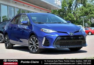 Used 2017 Toyota Corolla SE UPGRADE MAGS, TOIT, SIÈGES CHAUFFANT for sale in Pointe-Claire, QC