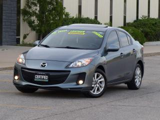 Used 2013 Mazda MAZDA3 GT-SKY,LEATHER,NAVIGATION,BOSE,TOP OF LINE,1-OWNER for sale in Mississauga, ON