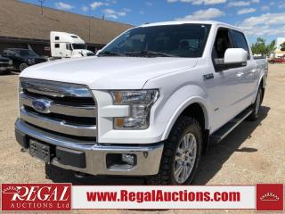 Used 2016 Ford F-150 LARIAT 4D SUPERCREW 4WD for sale in Calgary, AB