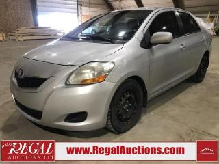 Used 2009 Toyota Yaris Base 4D Sedan for sale in Calgary, AB