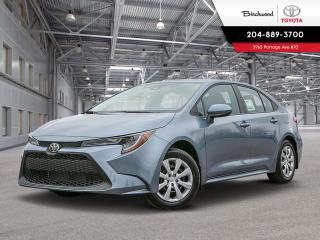 New 2020 Toyota Corolla LE LE UPGRADE W/CARGO for sale in Winnipeg, MB