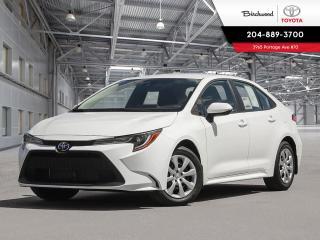 New 2020 Toyota Corolla LE UPGRADE W/CARGO for sale in Winnipeg, MB